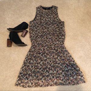 H&M Floral Smocked Waist Dress